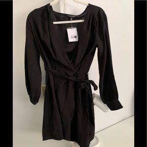 Topshop wrap dress NWT